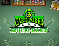 Multi Hand - 3 Card Poker